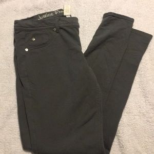 Justice Bottoms - 💥last call💥Justice knit jegging size 16 1/2